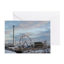 Fun Town Pier Seaside Park Jersey Sh Greeting Card