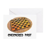 CHECKERED PAST Greeting Cards (Pk of 10)