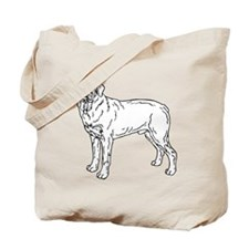 Mastiff Tote Bag