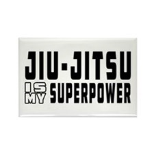 jiu Jitsu Is My Superpower Rectangle Magnet