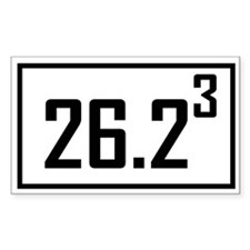 Marathon 3 Rectangle Decal