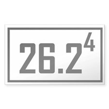 Marathon 4 Rectangle Decal