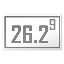 Marathon 9 Rectangle Decal