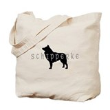 schipperke dogs Tote Bag