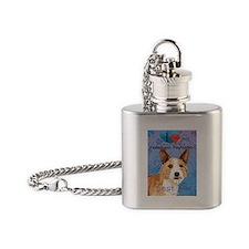 Portuguese Podengo Pequeno Flask Necklace