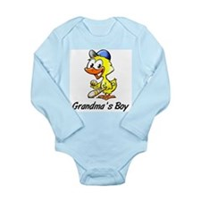 Grandma's Boy (Baseball) Body Suit
