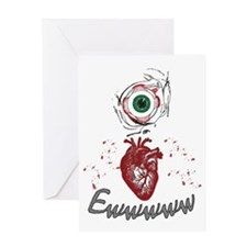 Eye Heart Ewww Greeting Card
