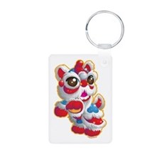 Cute Lion Dancer Keychains