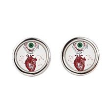 Eye Heart Ewww Cufflinks