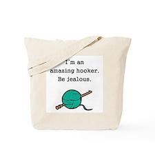 Amazing Hooker Tote Bag