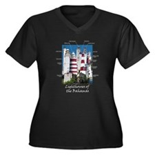 Lighthouses Of The Bahamas Plus Size T-Shirt