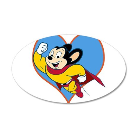 I Love Mighty Mouse Wall Decal
