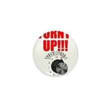 TURNT UP Mini Button (100 pack)