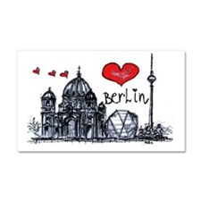 I love Berlin Car Magnet 20 x 12