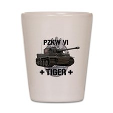 Tiger Tank Shot Glass