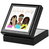 Island Girl Keepsake Box