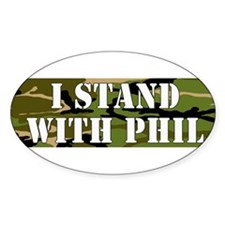 CAMO I Stand With Phil (robertson) Bumper Stickers