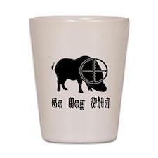 Feral Hog- Go Hog Wild Shot Glass
