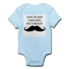 I Really Mustache Body Suit