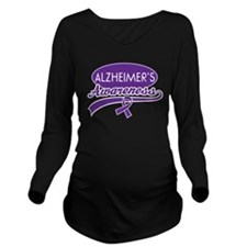 Alzheimers Awareness gift Long Sleeve Maternity T-