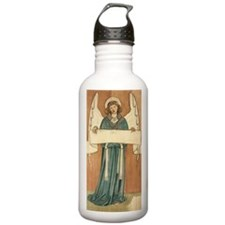 Angel by William Morri Water Bottle