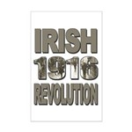 1916 Irish Revolution Mini Poster Print