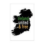 Ireland United & Free Mini Poster Print