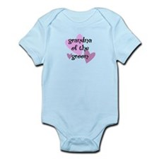 Grandma of the Groom Infant Bodysuit