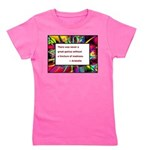 genius and madness aristotle.jpg Girl's Tee