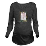 reading is to the mind.jpg Long Sleeve Maternity T