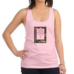 reading is to the mind.jpg Racerback Tank Top