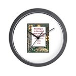 reading is to the mind.jpg Wall Clock
