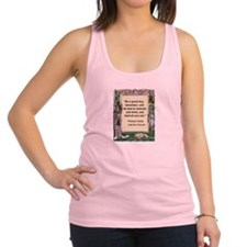 read all you can.jpg Racerback Tank Top