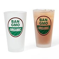 Ban GMO Organic Drinking Glass