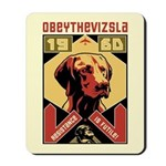 Vizsla Resistance is Futile! 1960 Mousepad
