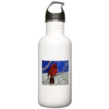 Red Cardinal Water Bottle
