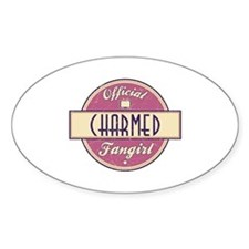 Official Charmed Fangirl Oval Decal