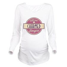 Official Charmed Fangirl Long Sleeve Maternity T-S
