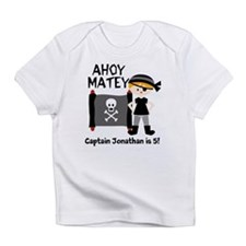 Unique Birthday pirate theme Infant T-Shirt