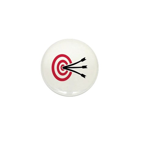 Archery target Mini Button (100 pack)