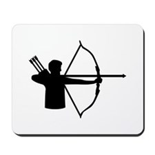 Archery player Mousepad