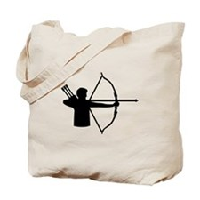 Archery player Tote Bag