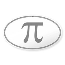Oval PI Bumper Decal