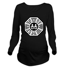 LOST Twins Long Sleeve Maternity T-Shirt