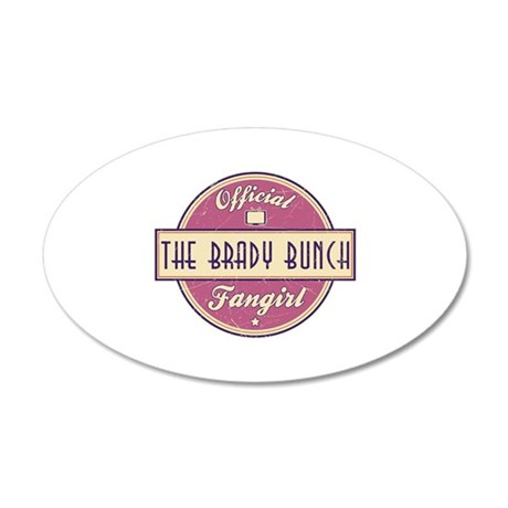 Official The Brady Bunch Fangirl 22x14 Oval Wall P