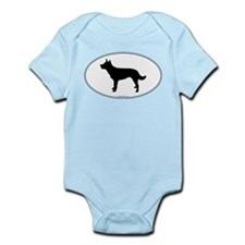Kelpie Silhouette Infant Bodysuit