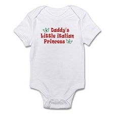 Daddy's Little Italian Prince Infant Bodysuit