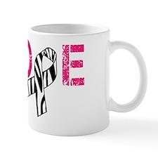 Hope Zebra Awareness Ribbon Mug