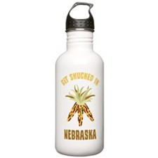 GET SHUCKED IN NEBRASKA Water Bottle