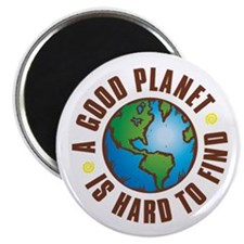 "Good Planet - 2.25"" Magnet (100 pack)"